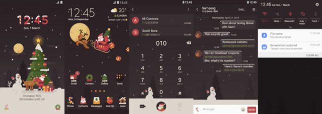 Samsung Galaxy Theme - [HIO] Santa Delivery - Live!