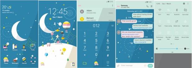Samsung Galaxy Theme - amusementpark_wheelee - THENEW