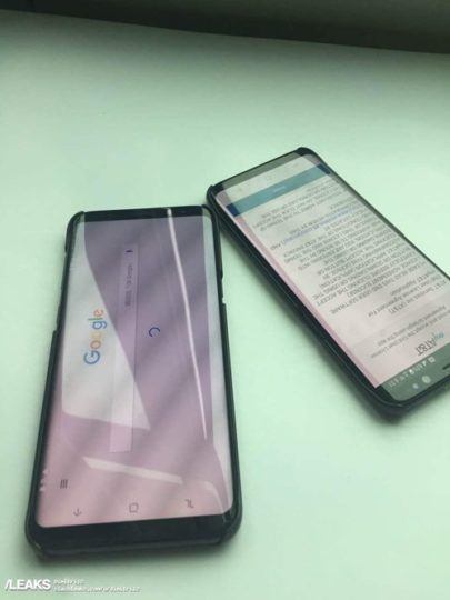 Galaxy S8 on-screen buttons reverse