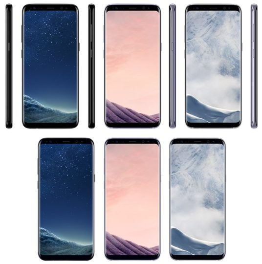 Samsung Galaxy S8 & S8 Plus - Colors