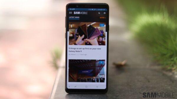 Galaxy A8 Plus (2019) - SamMobile