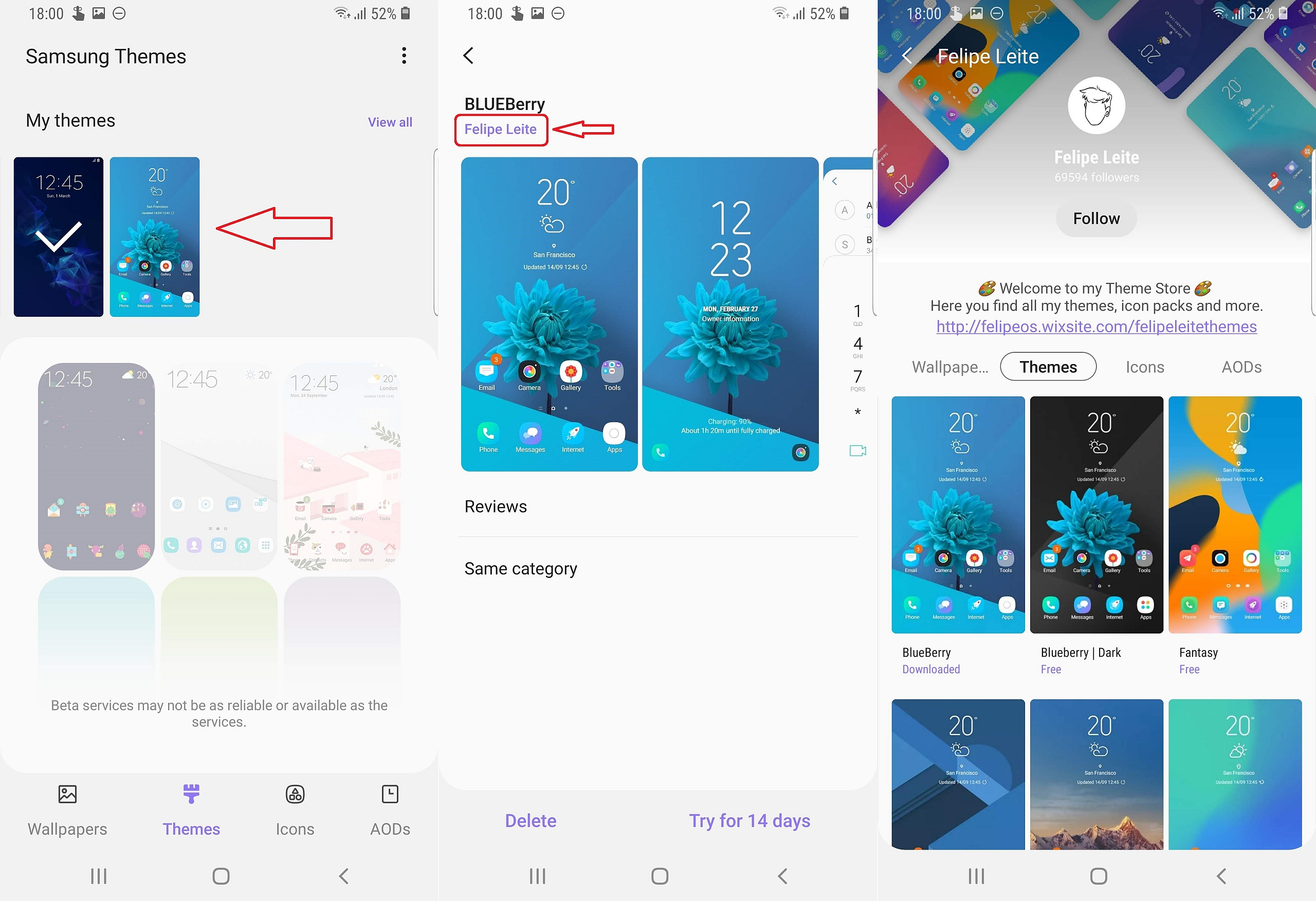 Here's a hack to change icons and themes on Galaxy S9 Android Pie