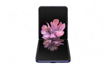Samsung Galaxy Z Flip render 1
