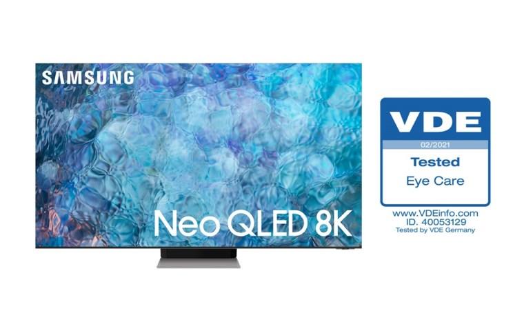 Samsung Neo QLED TV VDE Eye Care Certification