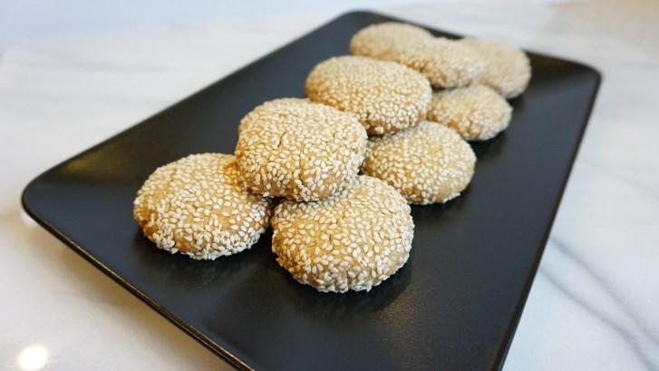 Spiced Tahini Cookies (Vegan + Gluten Free)