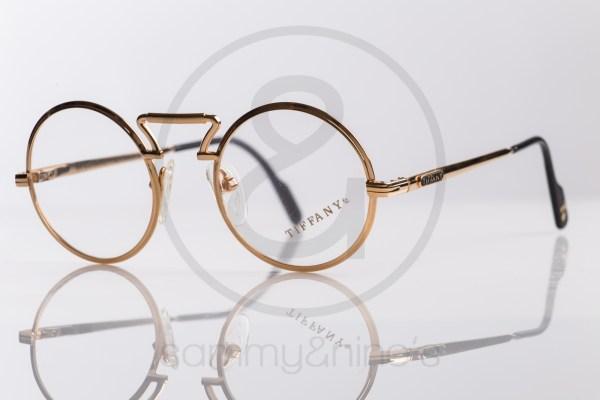 vintage Tiffany T23 sunglasses goldplated sammyninos eyewear frames 1