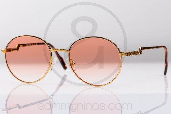 hilton-vintage-round-sunglasses-exclusive 025-24k-gold-eyewear-1