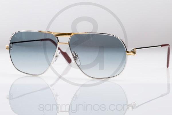 vintage-cartier-sunglasses-tank-platinum-1