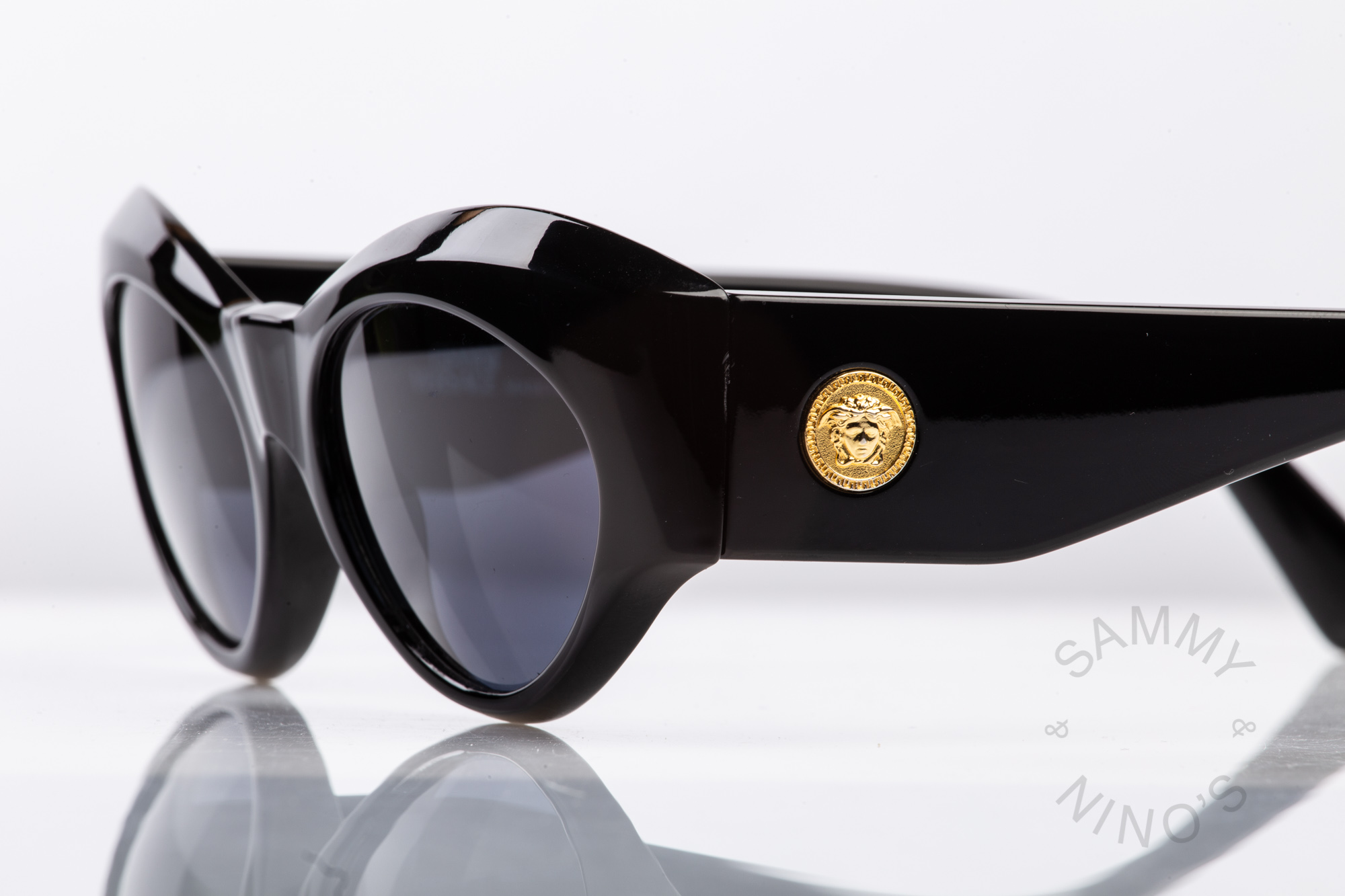 OCCHIALI GIANNI VERSACE 374 867 VINTAGE SUNGLASSES NEW OLD STOCK 1990/'S