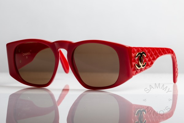 red-chanel-sunglasses-vintage-0003-90s-quilted-1