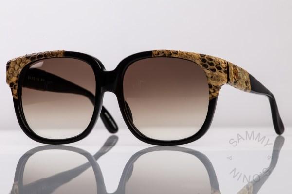 vintage-emmanuelle-khanh-sunglasses-8480-snake-skin-python-1