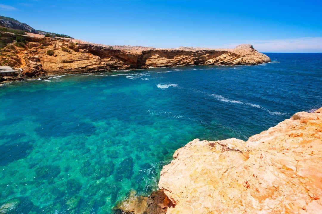 Ibiza's hidden beaches: Punta De Sa Galera Beach