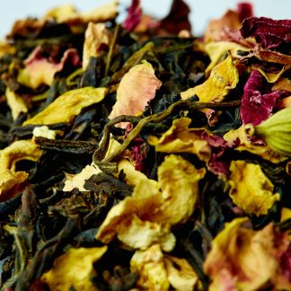 Organic California Persian Black tea and Rose - Ingredients