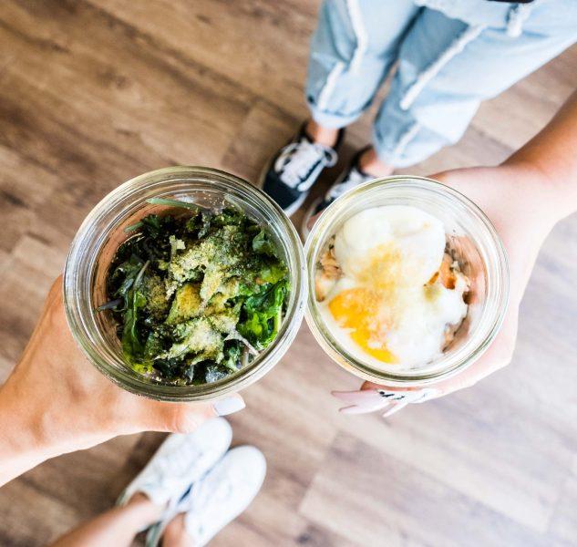 Two share nourishing food at Samovar Teahouse