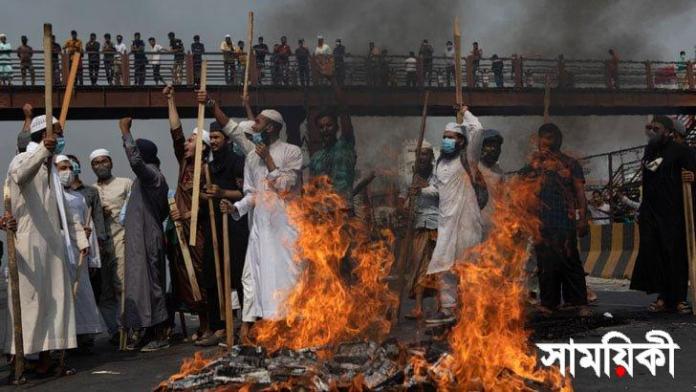 হেফাজতে ইসলাম নিষিদ্ধের দাবি ঘাতক দালাল নির্মূল কমিটির