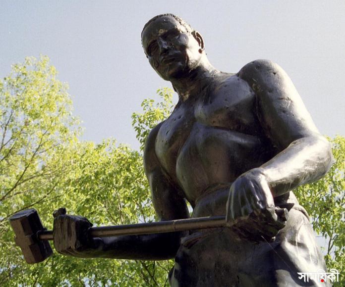 John Henry 27527 নাম তার ছিল জন হেনরী, ছিল যেন জীবন্ত ইতিহাস
