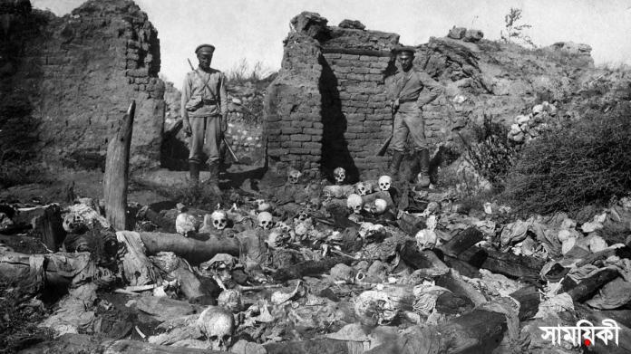 armenia genocide বাইডেন প্রথম বিশ্বযুদ্ধে অটোম্যান কর্তৃক আরমেনিয়ার হত্যাকাণ্ডকে গণহত্যা বলেছেন