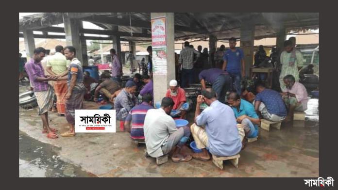 kk রামপালের ফয়লাহাট চিংড়ি পোনা ব্যবসাকে কেন্দ্র করে কোটি টাকার চাঁদাবাজি