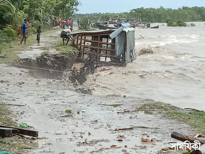 received 594684988168562 ঘূর্ণিঝড় 'ইয়াস': পটুয়াখালীতে বিধ্বস্ত বাঁধ দিয়ে পানি প্রবেশ করে ১০ গ্রাম প্লাবিত