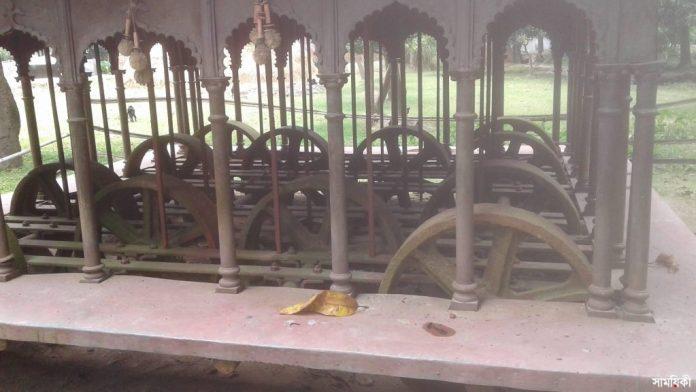 3 19 নাটোরের ঐতিহ্যবাহী পিতলের রথের জমি প্রভাবশালীদের দখলে