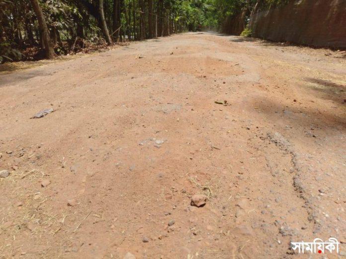 IMG 20210520 WA0014 রামপালে গুরুত্বপূর্ণ কয়েকটি সড়কের বেহালদশা, জনদূর্ভোগ চরমে
