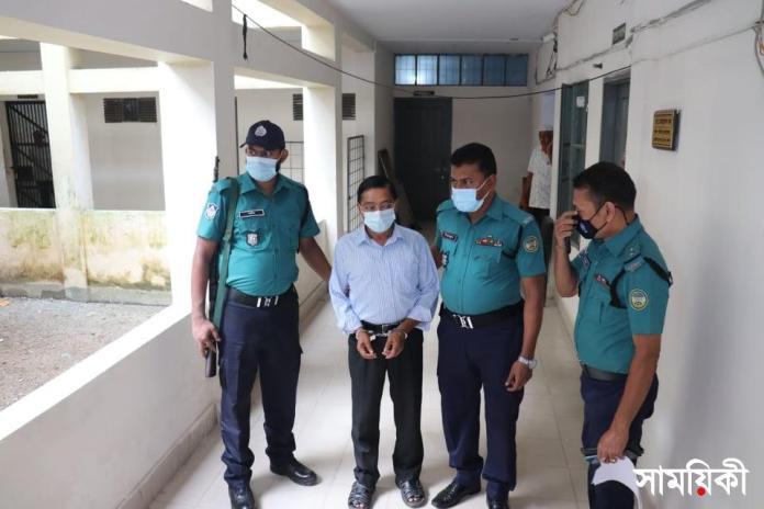Barishal Photo Contractor sent to jail after failed to proof taking bribe by BCC Mayor বিসিসি মেয়রকে জড়িয়ে আর্থিক প্রতারণার অভিযোগে এক ঠিকাদার গ্রেফতার