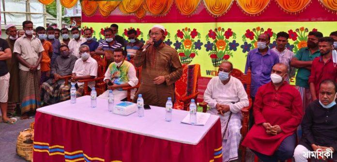 IMG 20210712 WA0002 2 রামপালে শেখ তন্ময়ের পক্ষ থেকে দুই শতাধিক হতদরিদ্র পরিবারের মাঝে ত্রাণ সামগ্রী বিতরণ