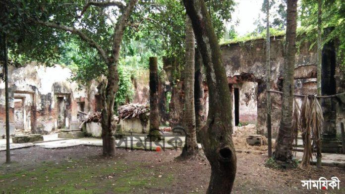 4 6 নাটোরের ধরাইল জমিদারের বাড়িসহ সম্পত্তি প্রভাবশালীদের দখলে