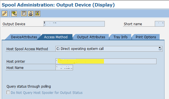 SAP - Installing new HP Printer - My Experiments with ABAP
