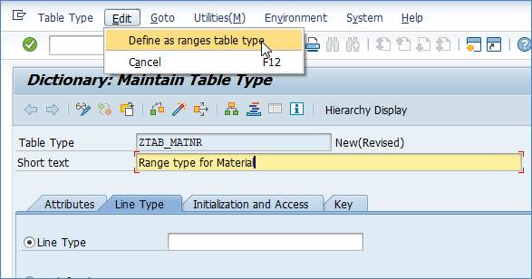 SAP Range Table | My Experiments with ABAP