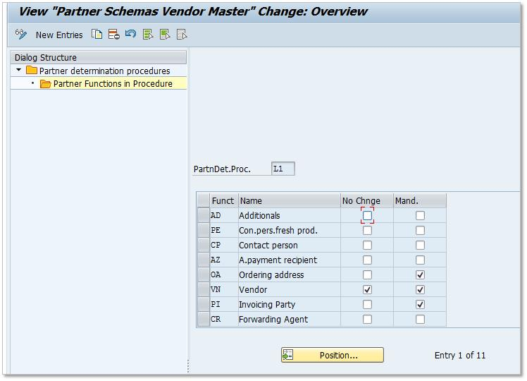 SAP Vendor Partner Determination - My Experiments with ABAP