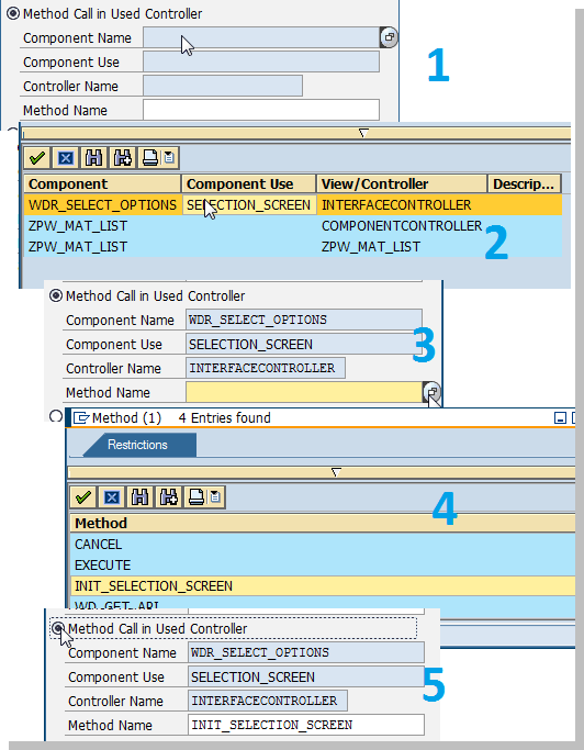 SAP ABAP Web Dynpro Related Tutorials