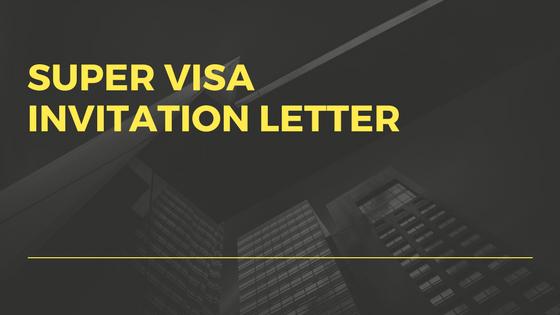 invitation letter for canadian visa