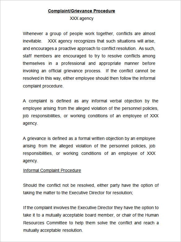How to write an official complaint letter about an employee leon how altavistaventures Choice Image