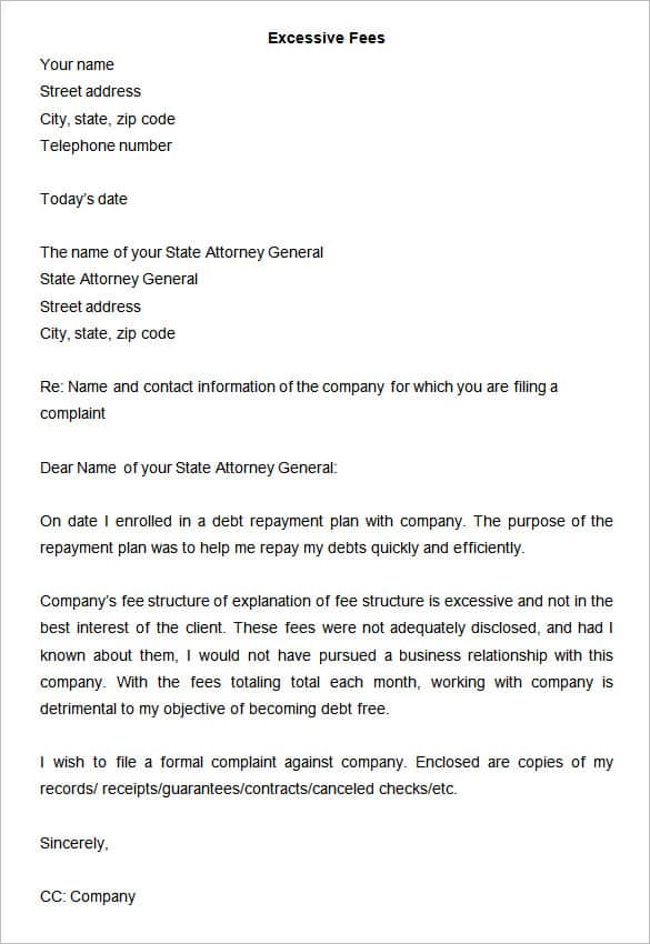 How To Write A Formal Complaint Letter Against A Coworker Is Spreading