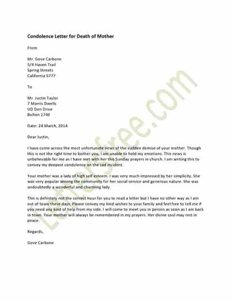 How to write a letter of condolence death images letter format 8 sample condolence letters sample letters word condolence letter 60 expocarfo spiritdancerdesigns Choice Image