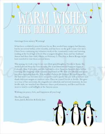10 sample holiday letters sample letters word holiday letter 40 spiritdancerdesigns Image collections