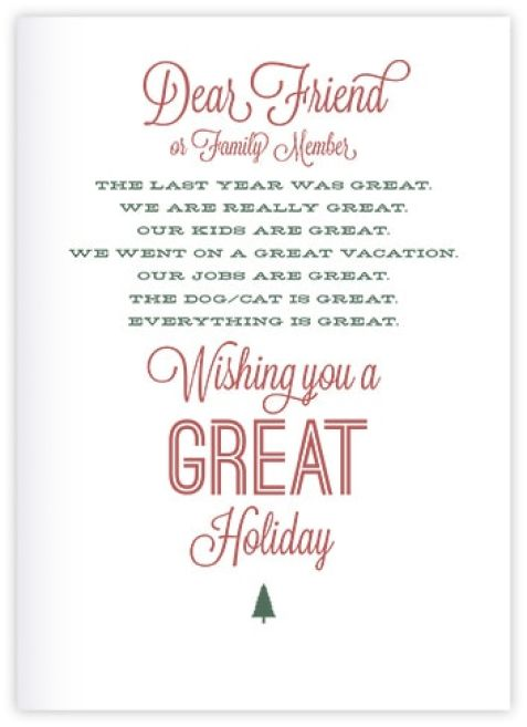 Sample Holiday Letters  Sample Letters Word
