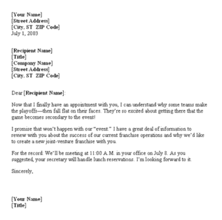 10 sample confirmation letters sample letters word meetingconference confirmation letter altavistaventures Image collections