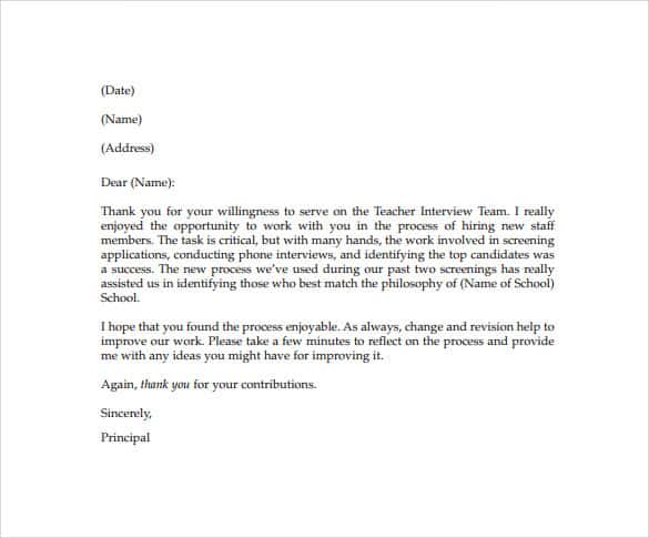 Compliment Letter Samples  Sample Letters Word
