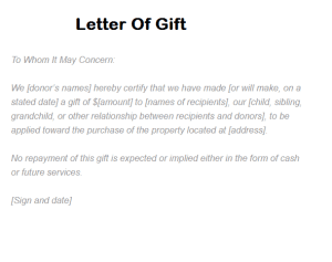 Sample letters word page 3 of 8 writing letters help templates 7 letter of gift samples negle Choice Image