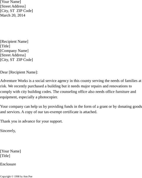 Delightful Request Letter Sample 006 ...