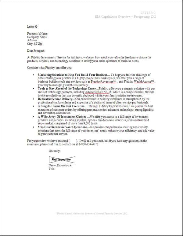 10+ Sample Sales Letters