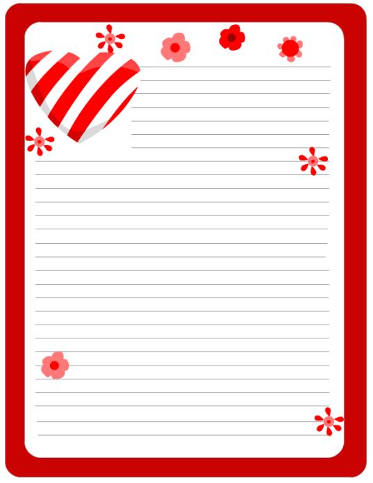 sample love letter template7