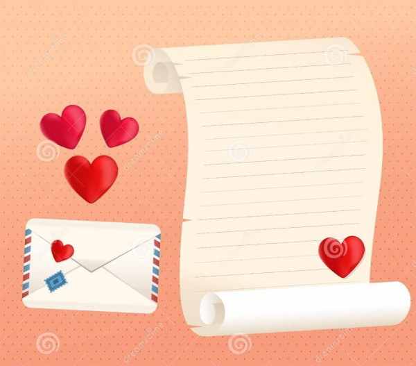 love letters templates