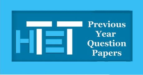 HTET Previous Year Question Papers with Answer Key
