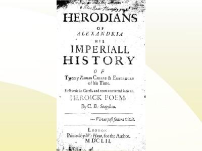 History of Roman Emperors