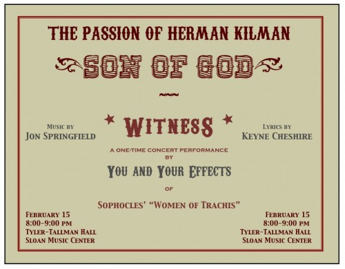 The Passion of Herman Kilman