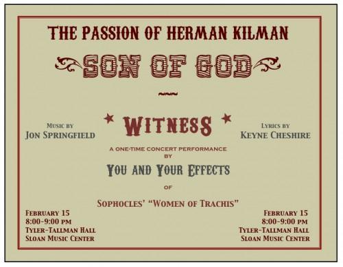 The Passion of Herman Kilman