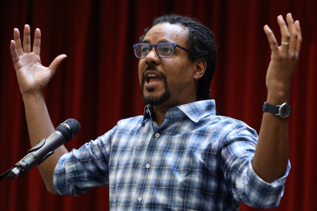 Colson Whitehead at Davidson College